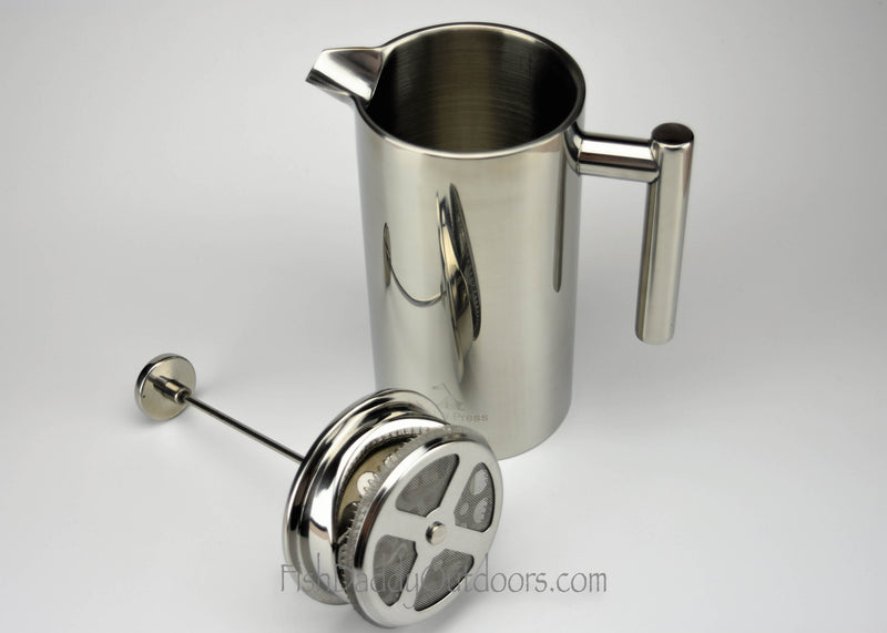 18/8 Stainless Steel 30oz Military Press by FishDaddy