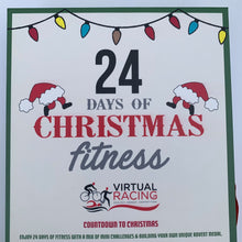 fitness advent calendar medal