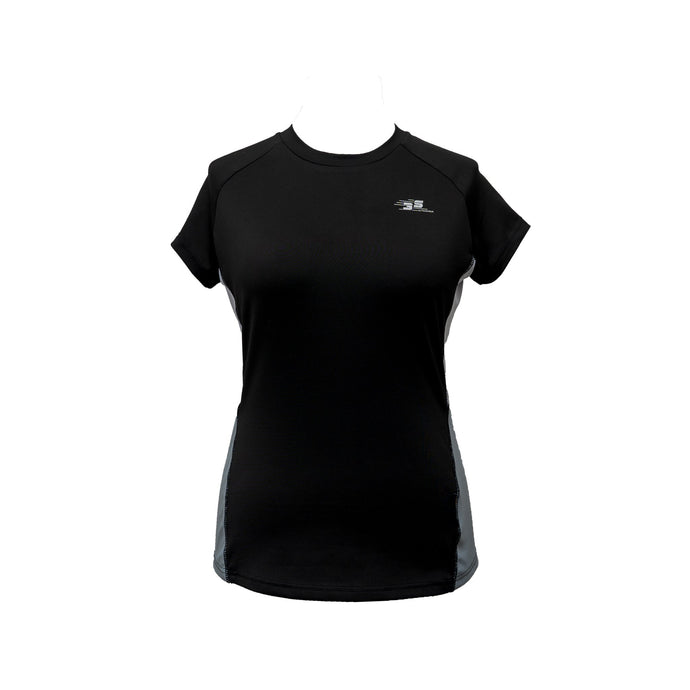 Black Virtual racing 3S t shirt top