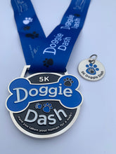 doggie dash medal 5k virtual race run walk