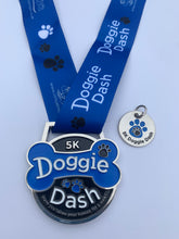 doggie dash 5k virtual runner medal