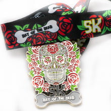 Halloween day of the dead October medal