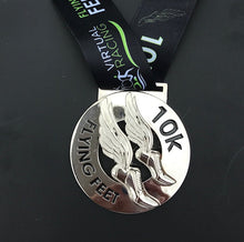 Flying Feet Virtual Race Medal