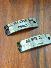 bling trainer tag she believed she could so she did