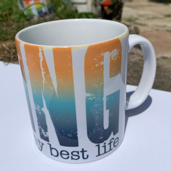 TeamVRUK Mug - Living my best life
