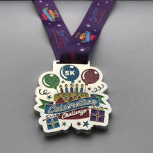 Complete a 5K around your birthday to achieve this medal