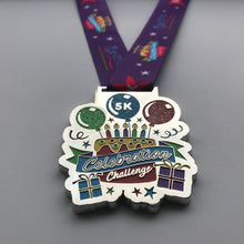 Birthday medal 5K
