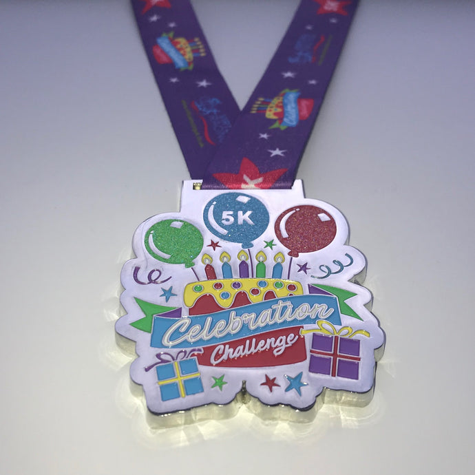 celebration birthday medal