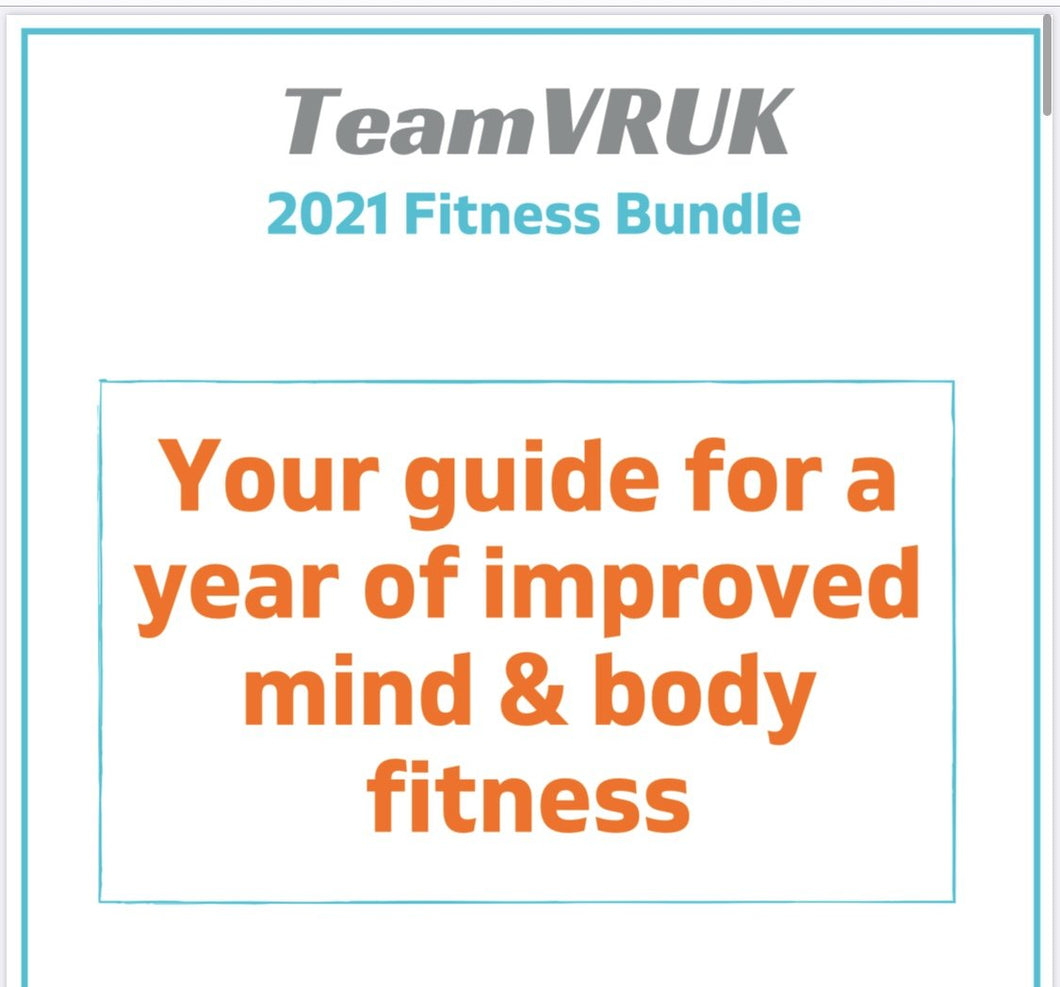 2021 Virtual Fitness Digital Downloads by Team VRUK