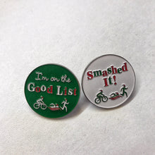 virtual racing uk christmas countdown advent calendar reward pin badges