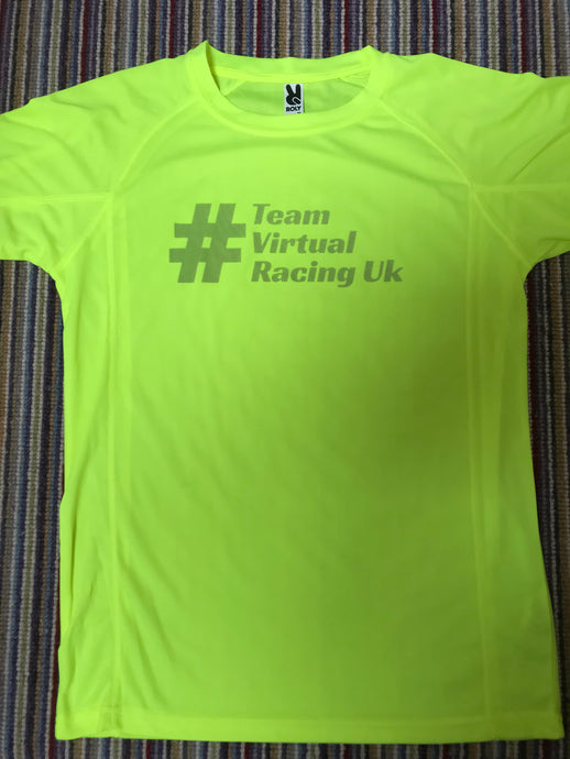 Team Virtual Racing UK Fluro Tee