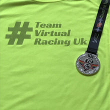 Chase The Tunes Medal & Team Virtual Racing UK Tee - Size S