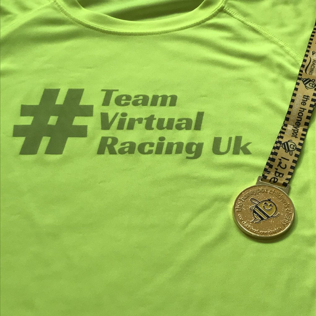 Honeypot Medal & Team Virtual Racing UK Tee - Size XXL