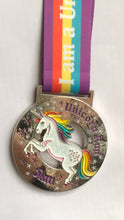 glitter unicorn running 5k medal virtual racing uk virtual runner