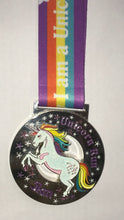 pretty unicorn shiny medal virtual racing uk