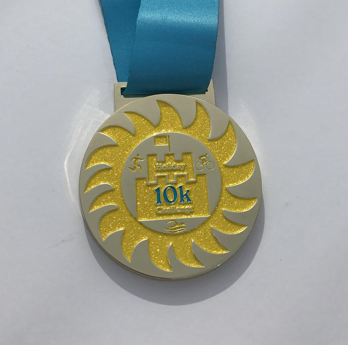 Holiday 10k Sandcastle trust Medal