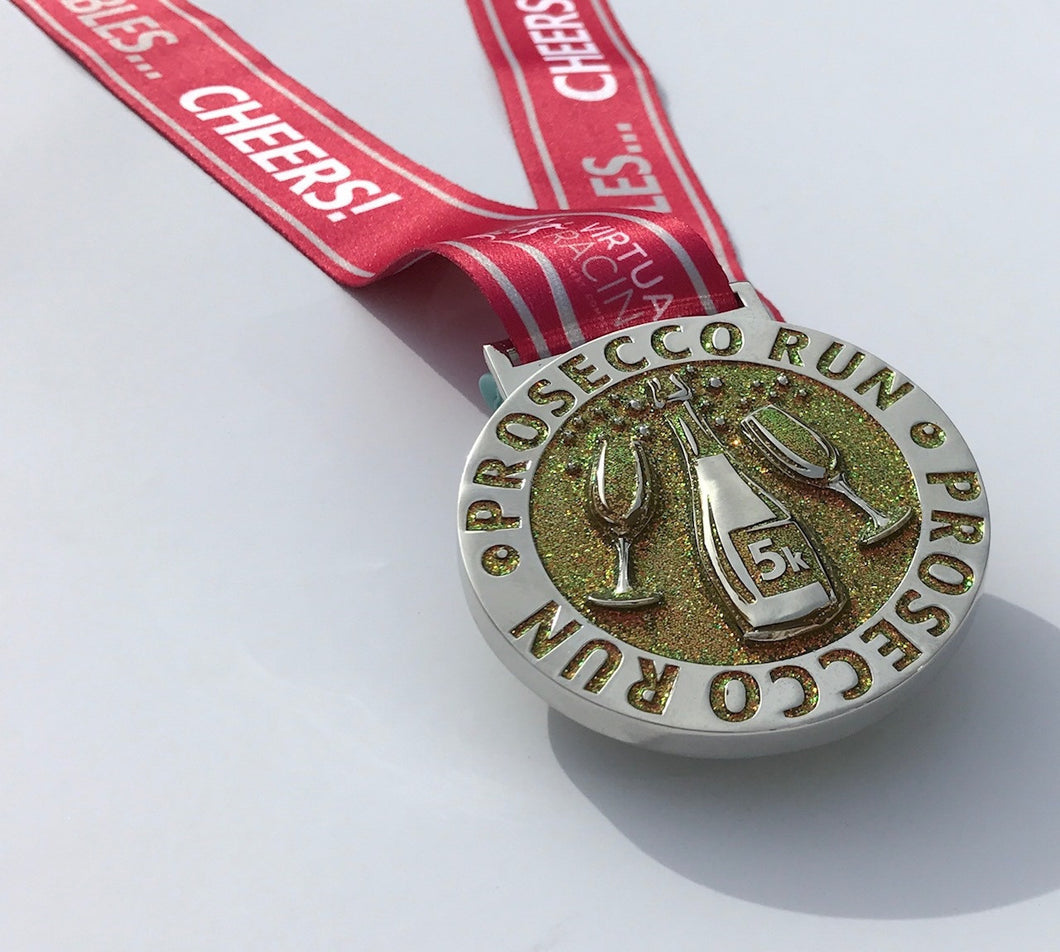 Prosseco Run Virtual Racing Medal