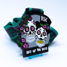 October 10k Day of Dead & Matching pin badge