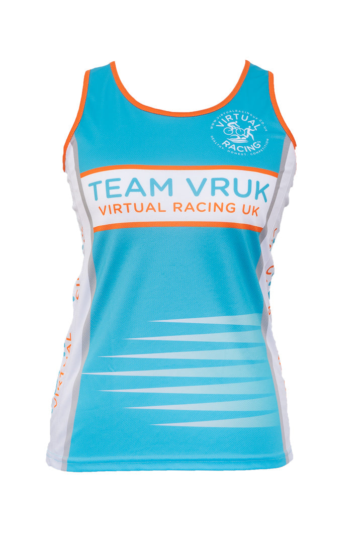 TEAM VRUK RACING VEST WOMENS FRONT