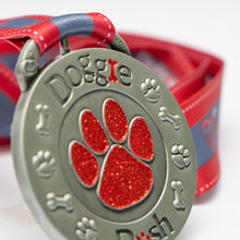 Doggie Dash Virtual Challenge - Red sparkles
