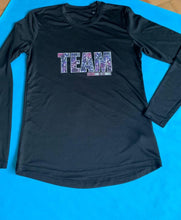 Black Long Sleeved Matchy Match Tops