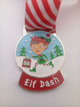 elf dash christmas medal