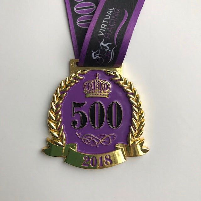 500 annual medal virtual racing uk