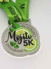 mojito cuban drink themed virtual race medal