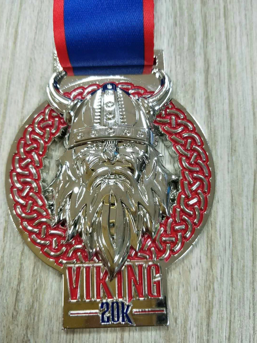 viking 20k virtual racing uk medal