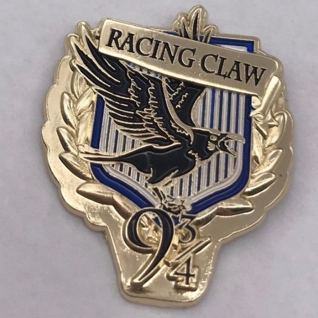 Racing claw Pin Badge