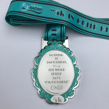 I'm possible Audrey Hepburn inspired medal