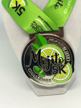 mojito themed virtual race medal virtual racing uk