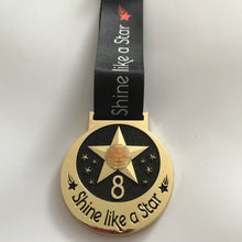 shine virtual racing uk medal