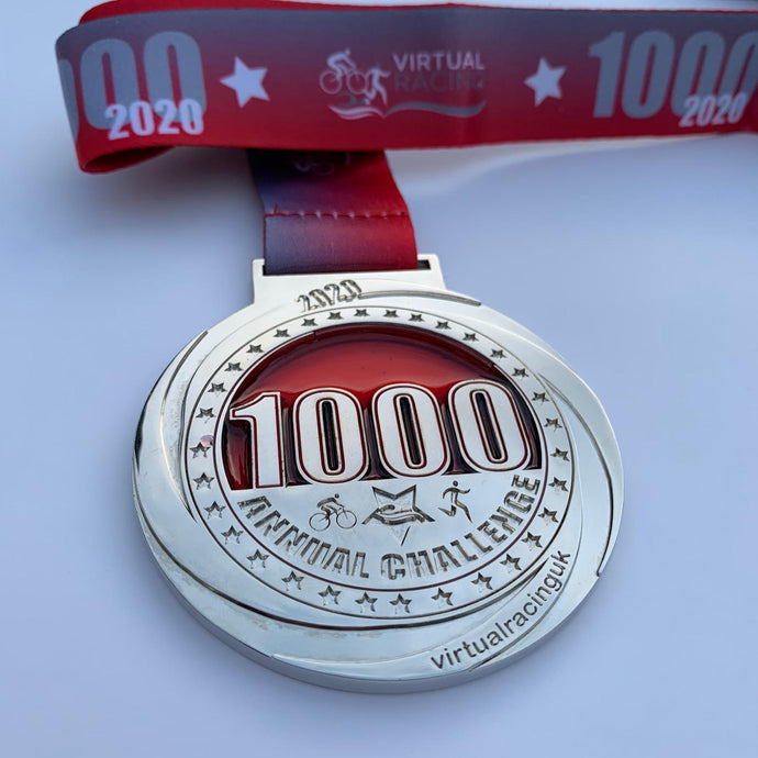 2020 1000 miles or 1000 km Virtual Distance Challenge