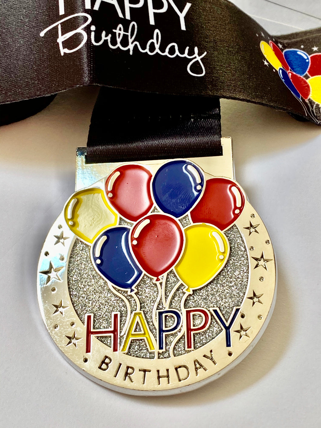 Birthday Celebration Challenge Medal