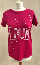 I Run Pink Fizz T Shirt