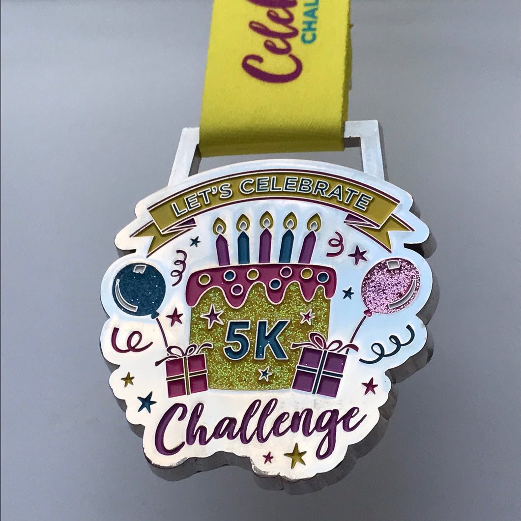 2019 Birthday Celebration Challenge Medal