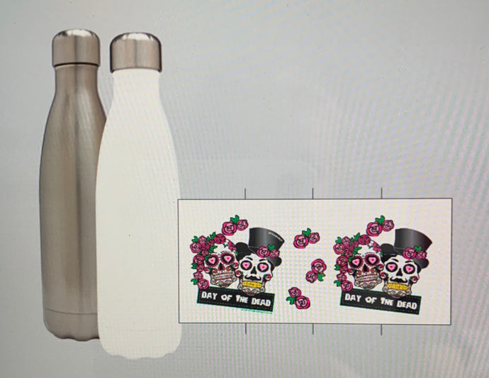 TeamVRUK Day of the Dead Stainless Steel Water Bottle