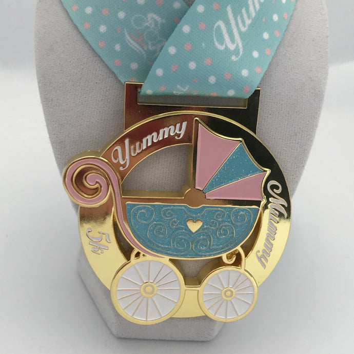 Yummy Mummy Medal Virtual Racing UK