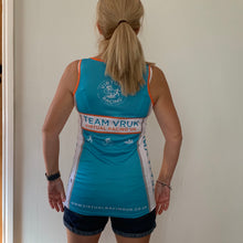 ladies racing fitness vest athletic