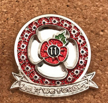 Lest We Forget PIN BADGE
