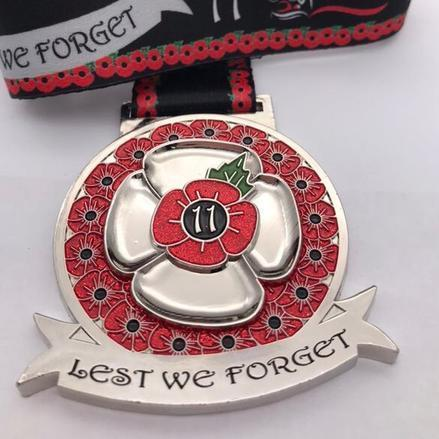Lest We Forget 11 - May with matching pin badge
