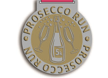 July Prosecco Party Run - Team of 6 entrants, 6 medals - virtual race