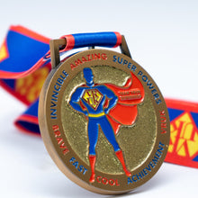 superhero superman supergirl medal
