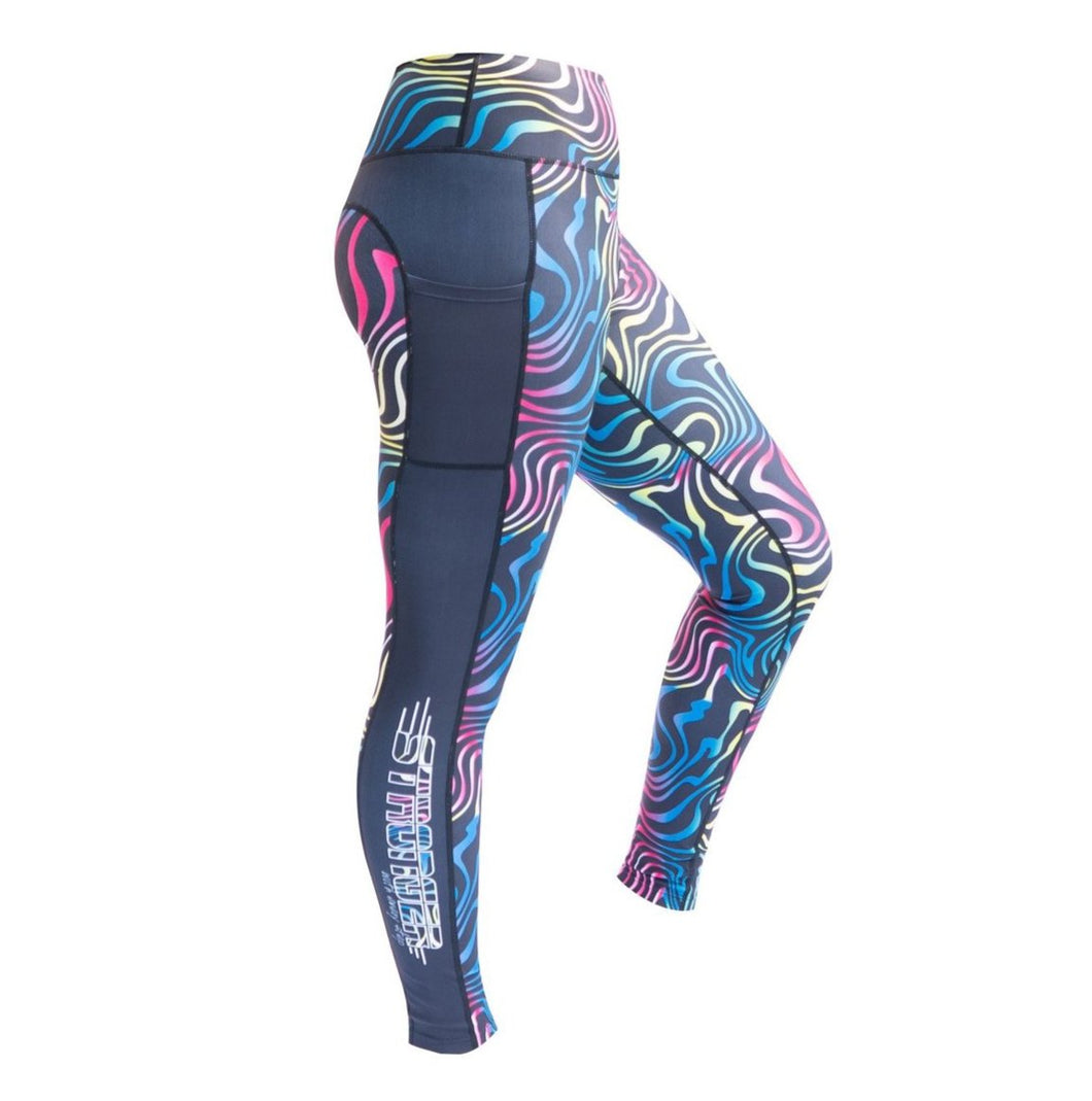 swirl leggings