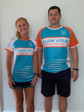 mens and womens TEAMVRUK virtual racing uk team tees