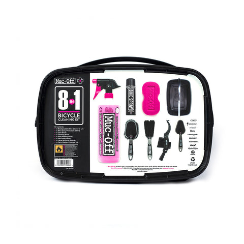 Muc-Off Cleaning Kit - 8 In 1