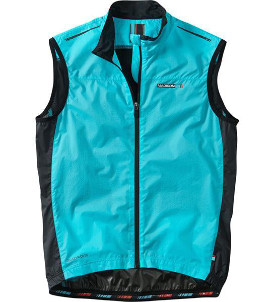 Madison Road Race men's premio windproof shell gilet