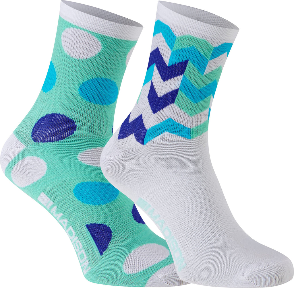 Madison Sportive women's mid sock twin pack