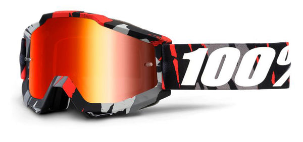 Accuri Magemo Red Mirror MTB Goggles